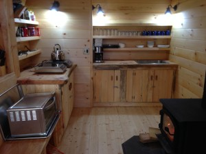 '65 Bunkhouse Galley Stocked and Ready for Winter 2015-16 -- November 20, 2015